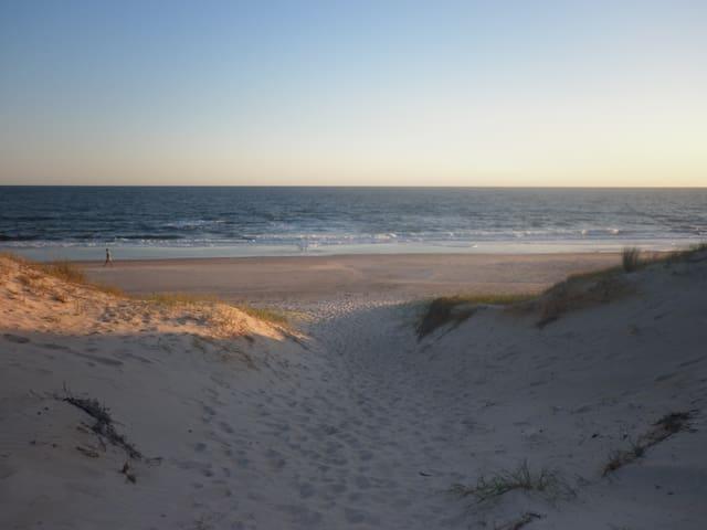 Vista de la playa El Caribe de San Luis
