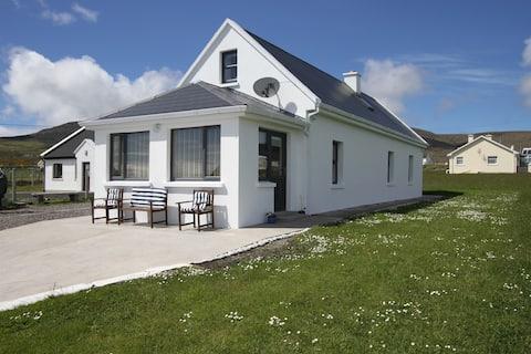 Charlie Toms Achill cottage in Dooagh Village