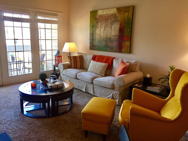 2BR 2BA W/Water View.  Great location in N Dallas