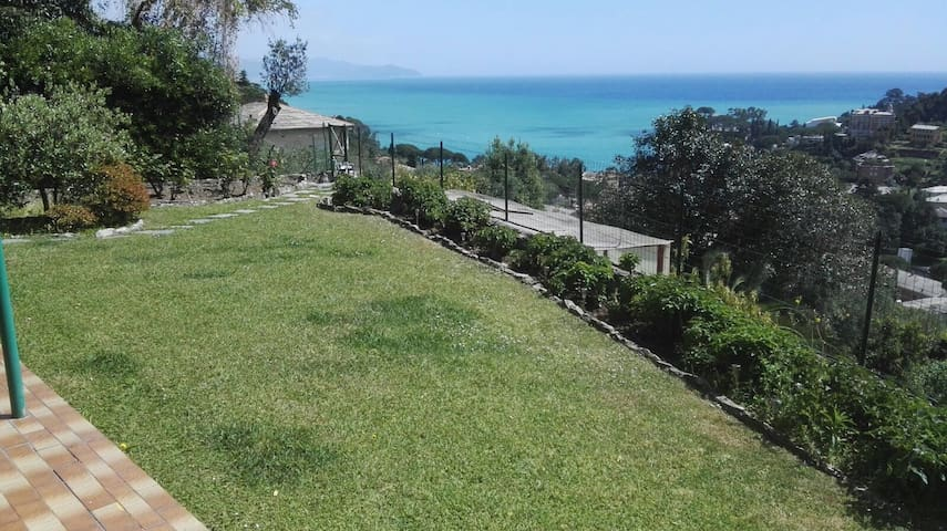 Great villa with Portofino sea view