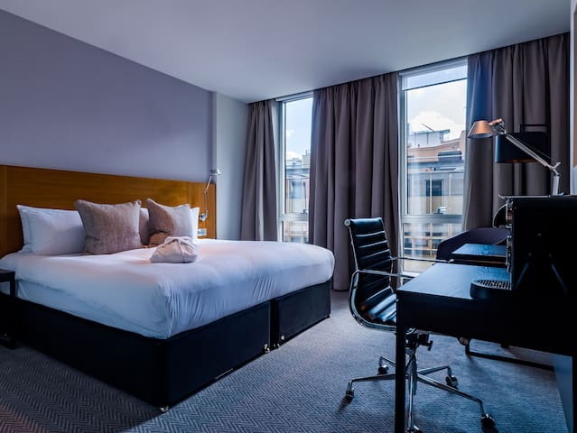 City Double room in this boutique four-star hotel in Central London