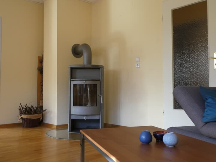 Cosy house - fireplace, close to nature & Hamburg