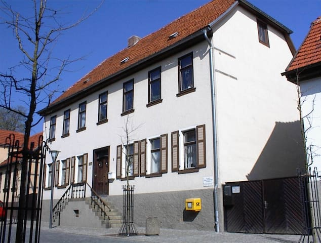 Ferienwohnung im 200 Jahre alten Fachwerkhaus - Harzgerode - Ferienunterkunft