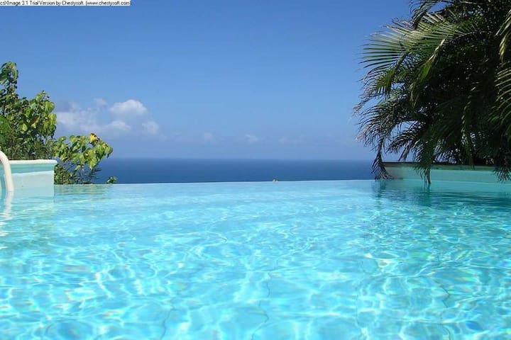 Master room vue exceptionnelle mer des caraîbes - Gustavia
