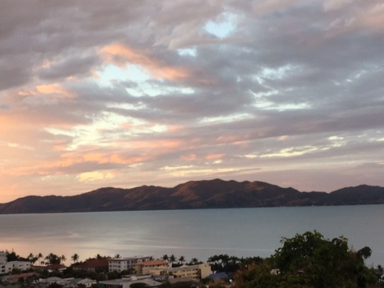 Looking to Magnetic Island from my balcony.