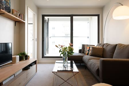 Luxury 2 bed city apartment with covered car park - Auckland - Apartment