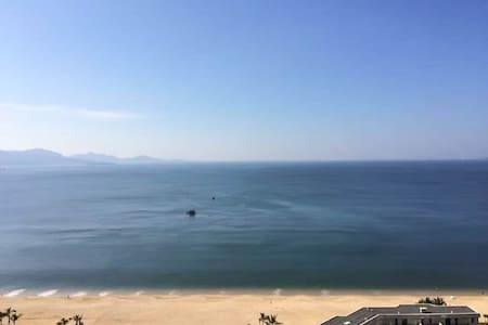 小径湾沙滩豪华海景大床房酒店式公寓 - Huizhou Shi