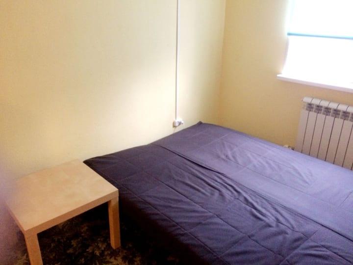 Уютная квартира-студия в районе биатлонного центра