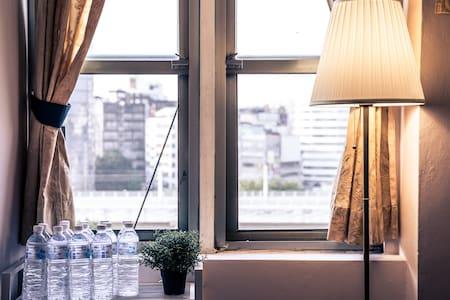 雙人火車視野房間 Train view double room
