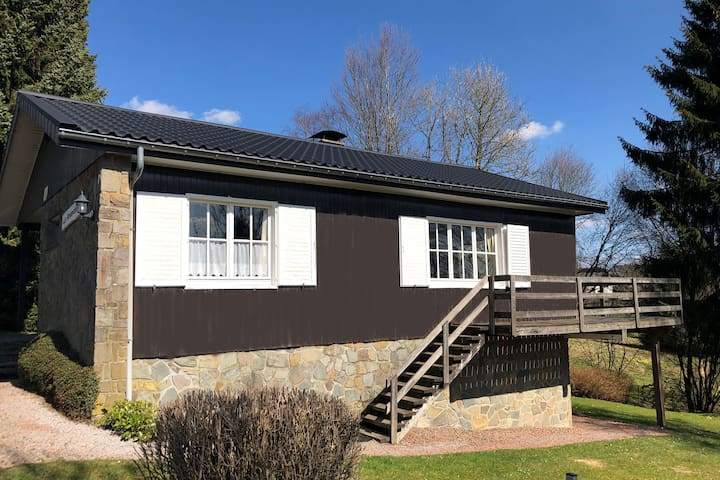 A well cared chalet situated at less than 10 kilometers from Malmedy, loads of activities possible