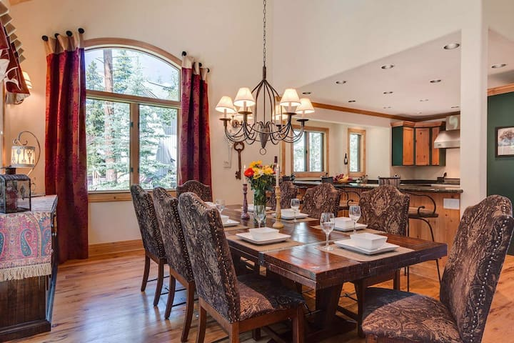 Lazy Fox Lodge in National Forest - Breckenridge - Rumah