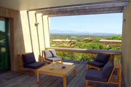 Villa  8 couchages, proximité plages, windsurf - Bonifacio - Hus