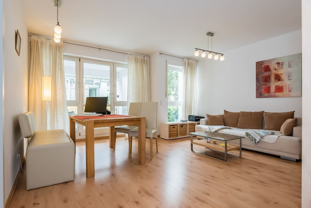 Gem tliche 2 zi wohnung in der city apartments for rent for Augsburg apartments for rent