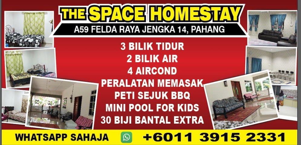 THE SPACE HOMESTAY JENGKA