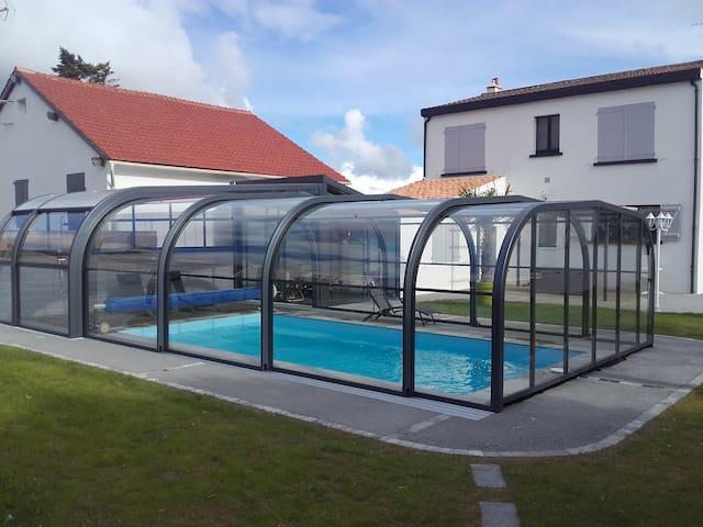 Villa, 10 Personnes, près des Sables d'Olonne - Talmont-Saint-Hilaire - Villa