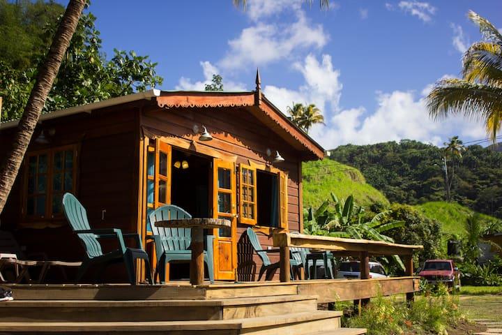 Sugar Shack: beachfront Tobago cabin