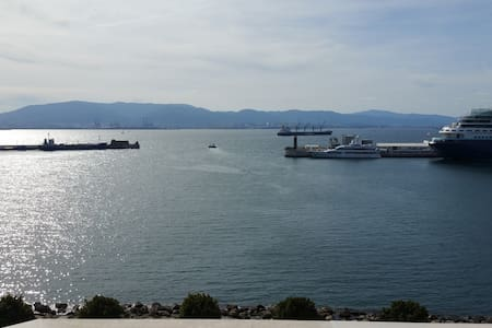 Sunny Harbour View 2 bed apt - Gibraltar