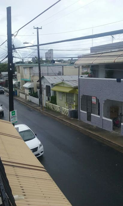 Sector residencial tranquilo