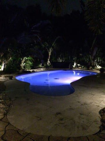 Private Oasis - Pool, Tiki, Theater - Polo Grounds - Wellington - Haus