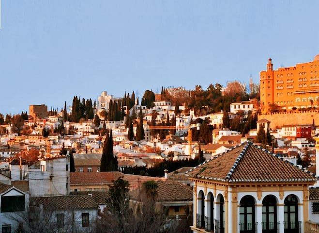 Centrico en Realejoa 10 minutos de la  Alahmbran - Granada - Pis