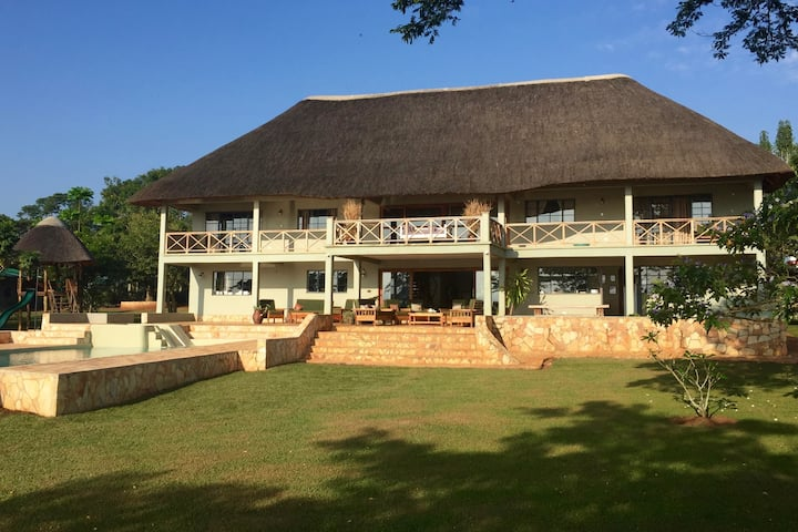 Nile Falls House - an exclusive Jinja experience.