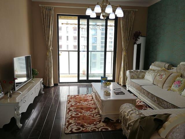 中央花园150平舒适的家
