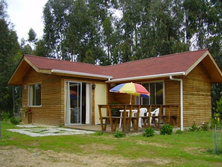 Cabaña de descanso en Algarrobo