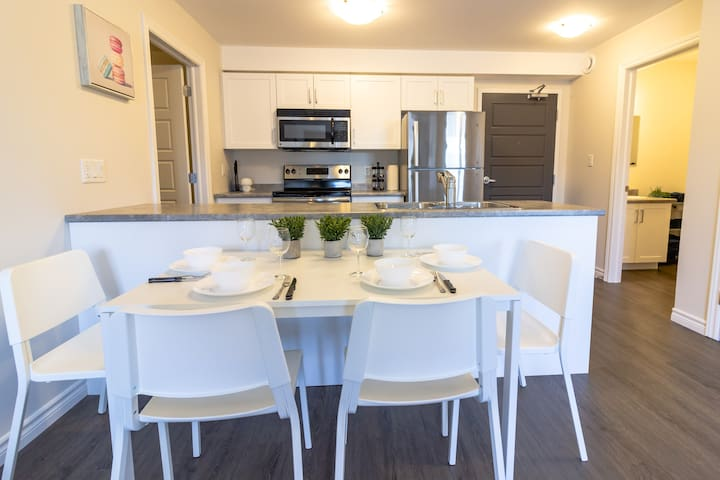 Modern Condo | Near Hospital, UNB | Patio&Parking