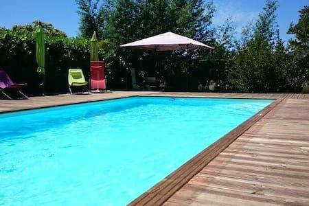 Superbe Villa landaise 8 pers - Saint-Vincent-de-Tyrosse - Casa de camp