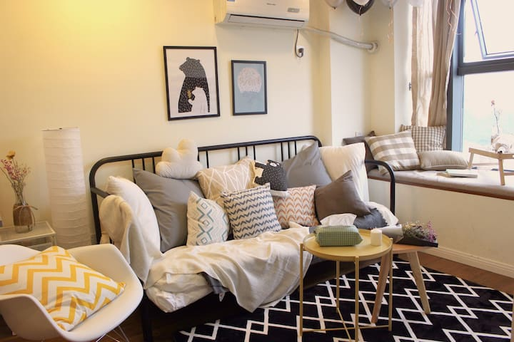 A cozy duplex apartment in the city center - Hangzhou - Apartment