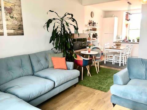 Spacious cozy flat in the heart of Haddington