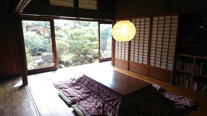 Small private room in Nara Backpackers