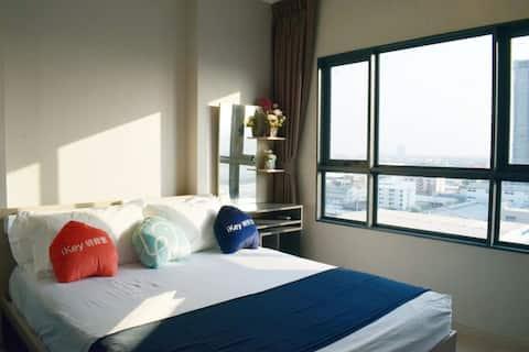 Pu Chao BTS Big C convenient one bedroom