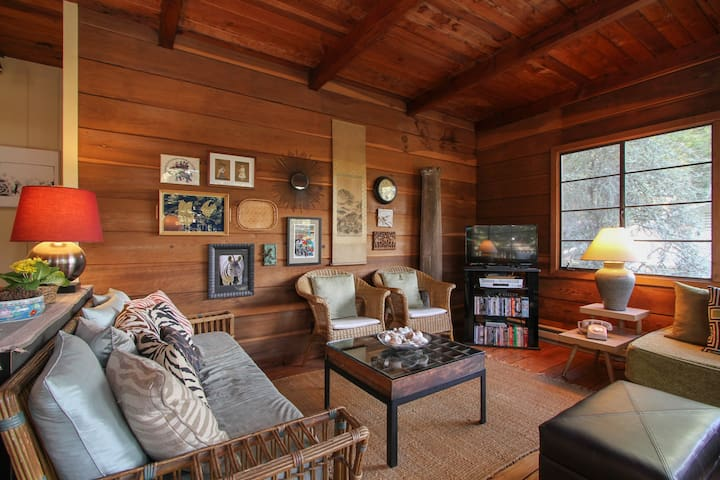"Relaxing ""Hillside Lodge"" Sleeps 4 - Guerneville"