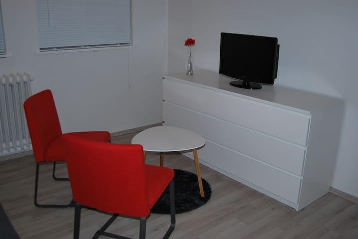 Bright studio with private entrance