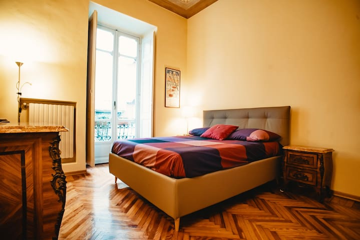 Luxury Master Bedroom in Turin City Center