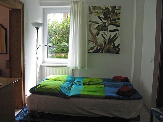 Rundgang Ferienwohnung /Das kleine Zimmer zum Wohnen....oder auch zum Schlafen
