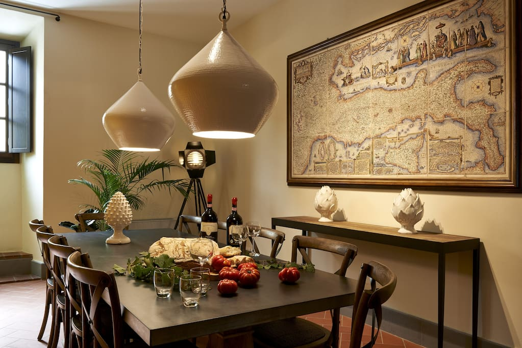 Villa Vincenzo's kitchen