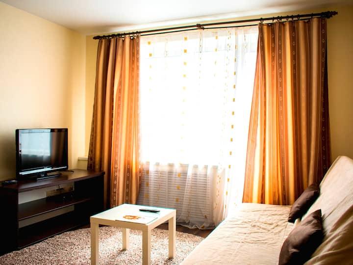 Исторический центр Уютно и красиво Балкон и Wi-Fi