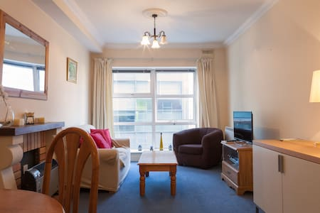 The apartment is located at south bank of Liffey River, 5 minutes walking to Grafton Street/Temple Bar/Trinity College, convenient traffic with Dart/Train Station and Bus Line near by.
