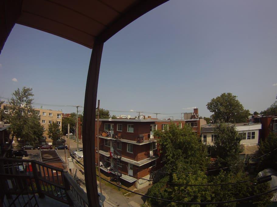 Balcon arrière