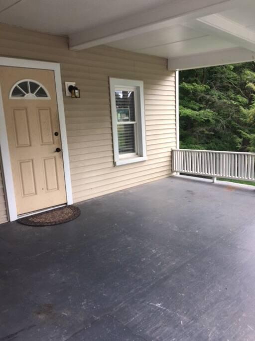 Main entrance/porch