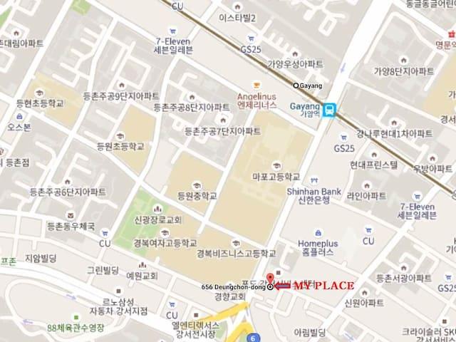 Brand New Loft @Gayang Station Line NO.9 Express! - Gangseo-gu - Loft