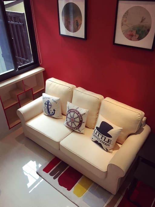 客厅3人沙发