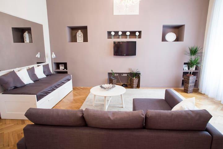 Spacious apartment in the city centre - Budapest - Leilighet