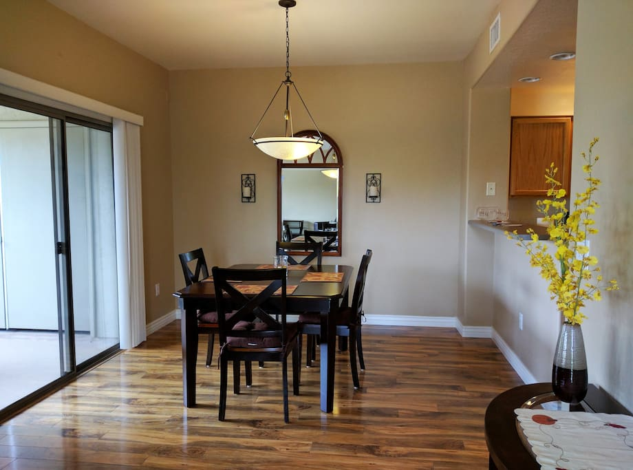 Dining Room Area.