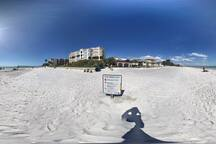 A typical day in Redington Beach. Talk about privacy!