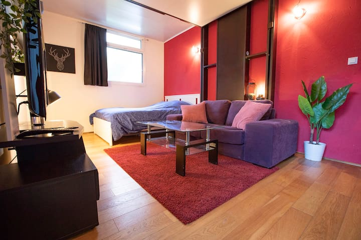 Charmant studio de 25m2 proche de Paris