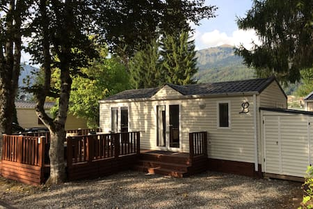 MOBIL HOME GRAND CONFORT 4 PERS dans camping 3* - Samoëns - Bungalow