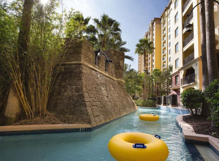 Wyndham Bonnet Creek, 1 bedroom Condo, Free WiFi